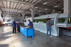 tecnologia fiber laser tubo Brescia