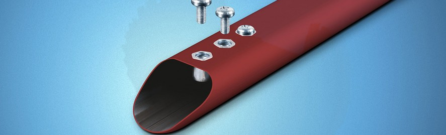 laser tube Brescia profili in alluminio