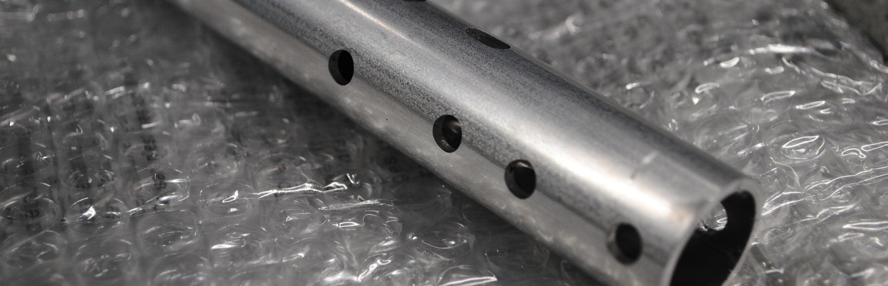 Taglio laser per tubi in acciaio, ottone, rame e alluminio
