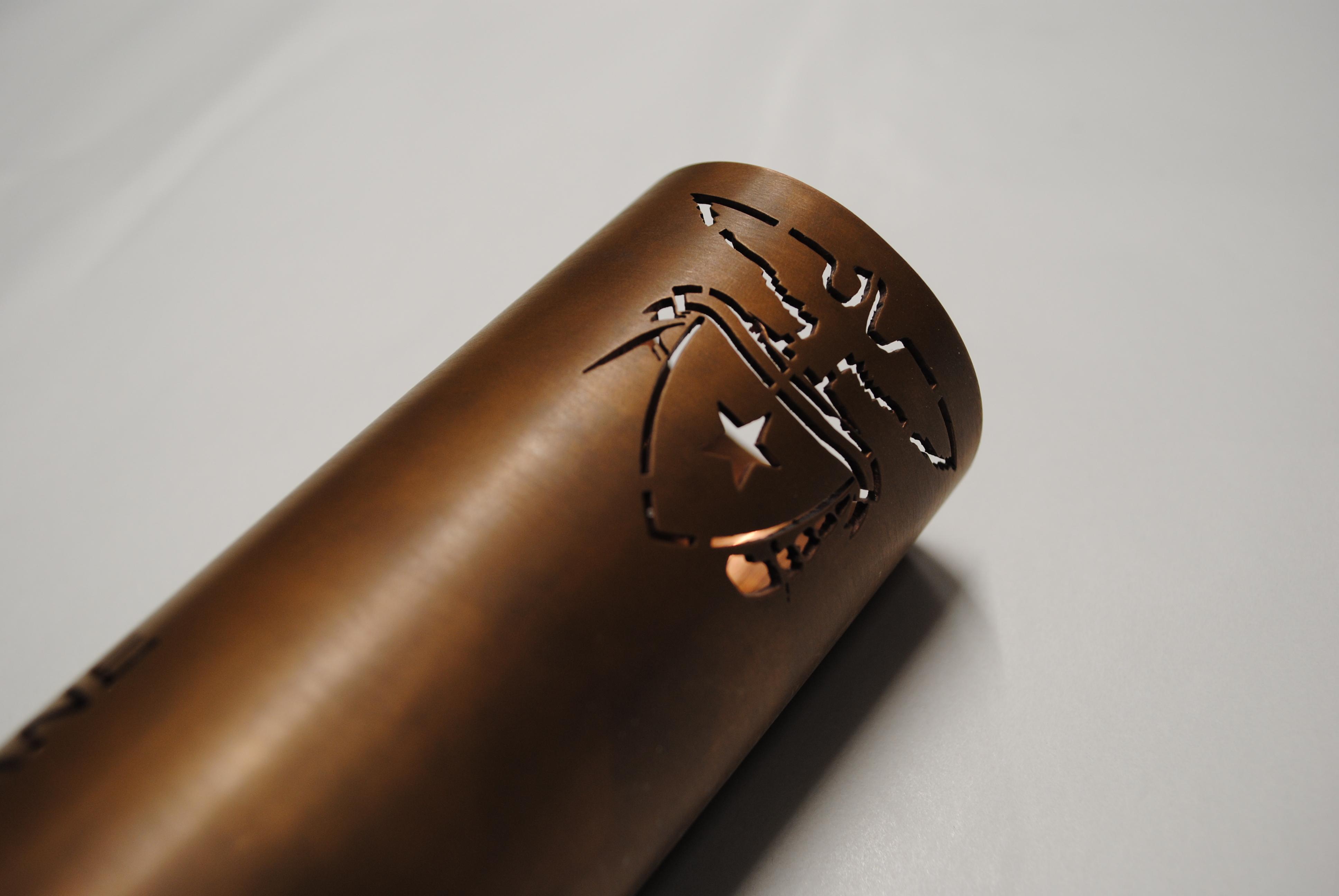 fiber laser su tubo in rame