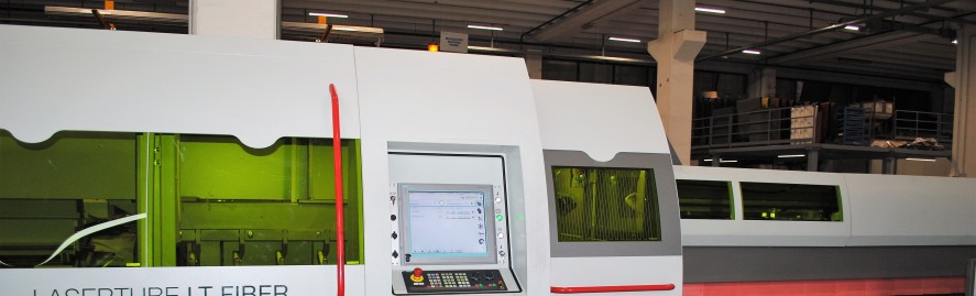 Taglio laser su profili tubolari