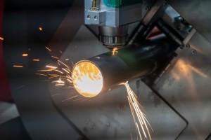 Taglio laser alluminio rame ottone